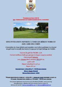 Ottawa: RCACA Golf Tournament (RCACA)