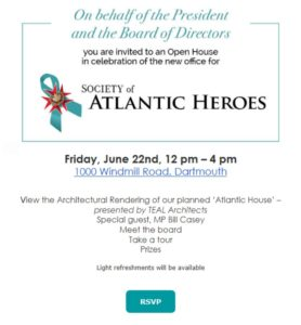 Halifax, Society of Atlantic Heroes Open House (RUSI NS)