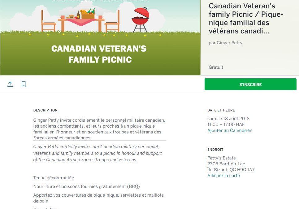 Montreal, CF and Veteran's BBQ & Picnic (CC)