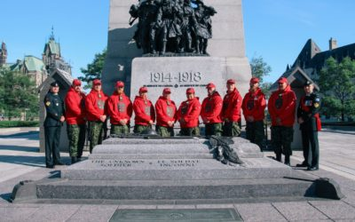 Canadian Rangers Guard the Tomb of the Unknown Soldier for the First Time
